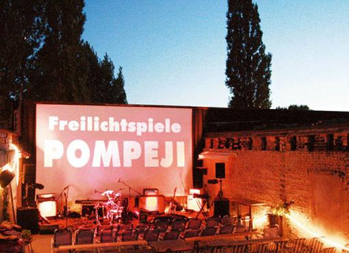Freilichtkino Pompeji - Foto: © zukunft-ostkreuz.de