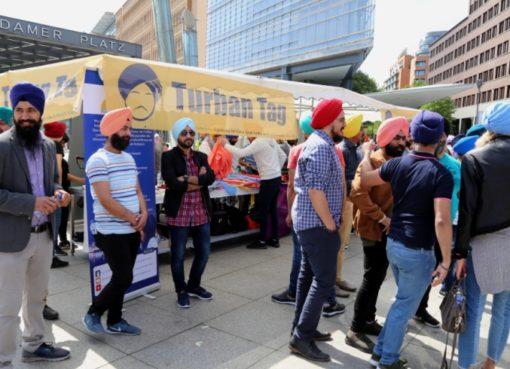 1. Turban-Tag der Sikh-Gemeinde in Berlin