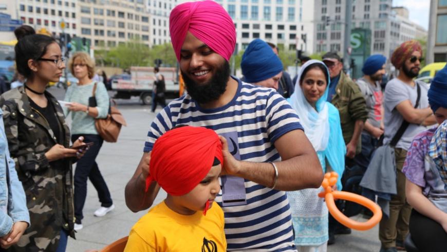 1.Turban-Tag der Sikh-Gemeinde