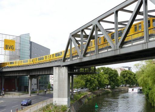 Hochbahn am Gleisdreieck