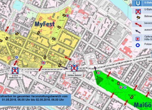 Myfest und MaiGörli am 1.Mai 2018