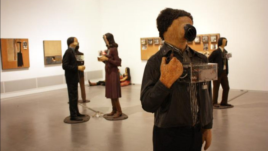 Edward and Nancy Reddin Kienholz: The Art Show - Foto: Caro Wagner, Berlinische Galerie