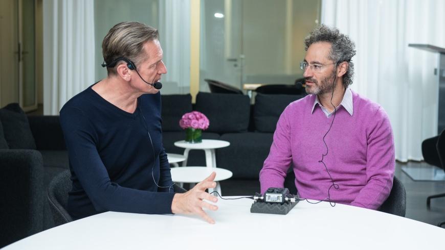 Mathias Döpfner interviewt Alex Karp