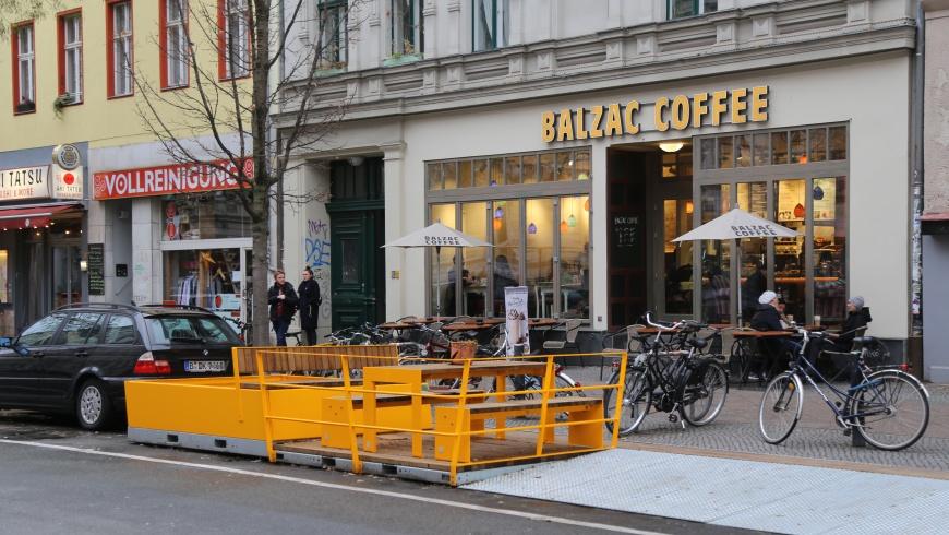 Begeggnungszone Bergmannstraße