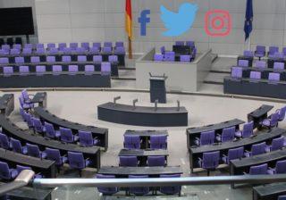 Facebook, Twitter und Instagram im Bunstag?