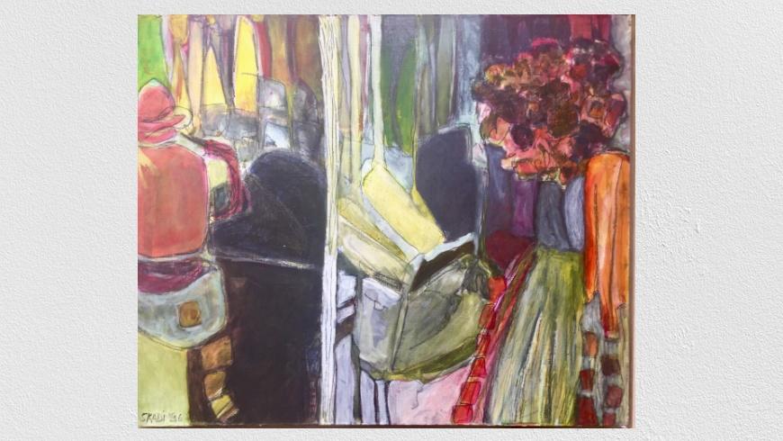 skadi engeln Abstrakte Malerei 1996