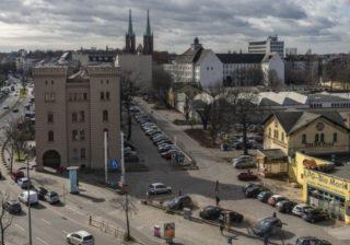 Rathausblock und Dragonerareal