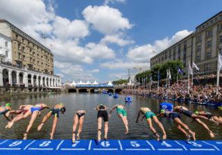 Triatlon Schwimmen - Finals Berlin 2019
