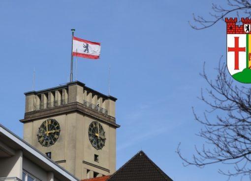 Turm des Rathaus Schöneberg