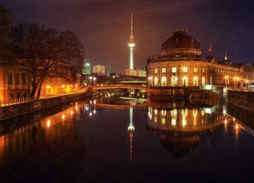 Berlin-Mitte bei Nacht