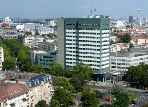 Drehscheibe der Wirtschaftsförderung: Hochhaus der Investititionsbank Berlin (IBB)