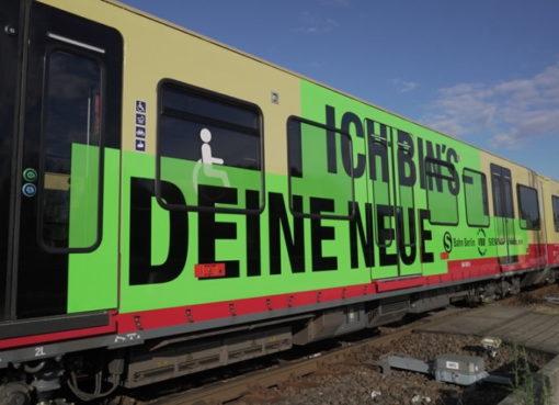 S-Bahn Baureihe BR 484 auf Testfahrt