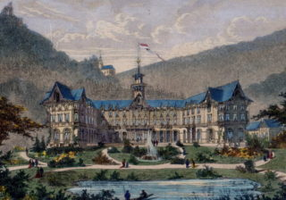 Klimatische Heilanstalt Falkenstein um 1875