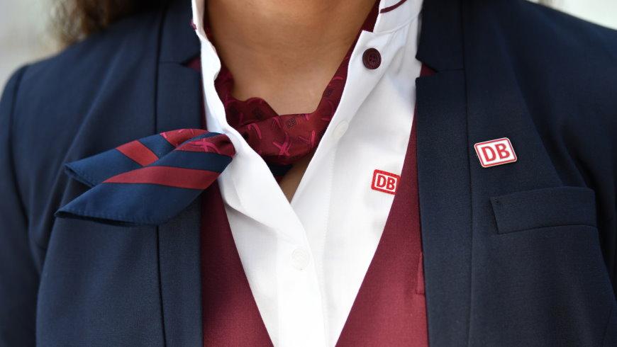 DB AG mit neuer Unternehmensbekleidung