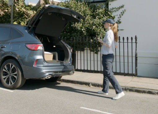 """ForPass: Liefersystem """"Secure Delivery to Vehicle"""""""